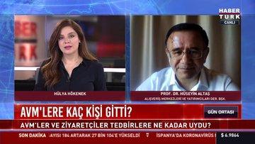 AYD Derneği Başkanı Altaş, Habertürk'e konuştu
