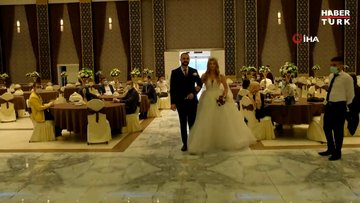 Diyarbakır'da 'yeni tip düğün' provası