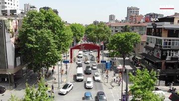 Bağdat Caddesi'nde insan kalabalığı pes dedirtti, uyarılara rağmen Bağdat caddesi doldu taştı