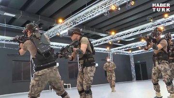 Özel Harekat Polisleri, çatışma şartlarına sanal ortamda hazırlanıyor
