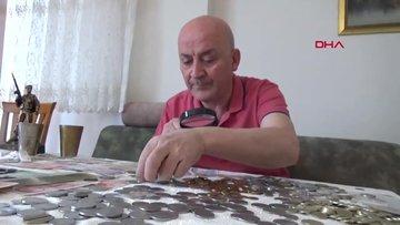 40 yılda 100 bin lira değerince para koleksiyonu oluşturdu