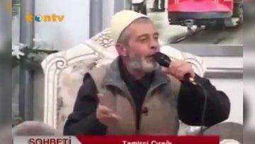 Cami imamı efsane şarkıyı söyledi