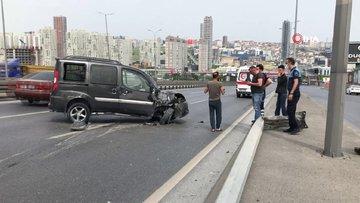 Sokağa çıkma kısıtlamasında kaza yapan gençlere araç sahibi babadan ikinci şok