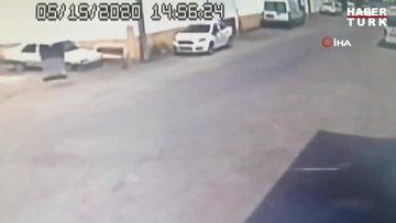 Polisin 'dur' ihtarına uymadı, drift attığı aracı bırakıp kaçmaya kalktı