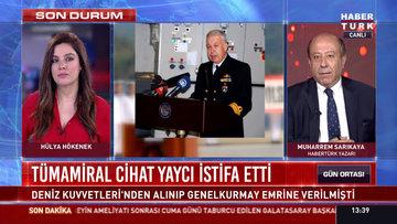 Tümamiral Cihat Yaycı istifa etti