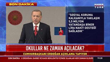 Cumhurbaşkanı Erdoğan: 23 24 25  26 Mayıs tarihlerinde 81 ilde sokağa çıkma kısıtlaması uygulanacak