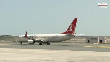 THY'nin 9 milyon sembolik yolculu 19 Mayıs özel uçuşu başladı