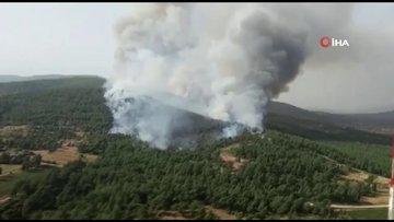 Muğla'daki yangın büyüyor