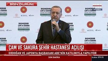 Son dakika! Başakşehir Çam ve Sakura Şehir Hastanesi açıldı! Ortak mesaj: Türk-Japon dostluğunun nişanı