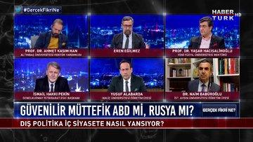 Gerçek Fikri Ne - 23 Mayıs 2020 (Türkiye için güvenilir müttefik ABD mi, Rusya mı?)