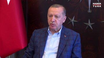 Cumhurbaşkanı Erdoğan: Türkiye hamdolsun küresel salgın sürecini başarıyla yönetmiş ve sonuca yaklaşmıştır