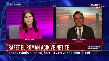 Rafet El Roman Habertürk'te - Açık ve Net Bayram Özel (25 Mayıs 2020)