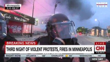 CNN muhabirine canlı yayında gözaltı!