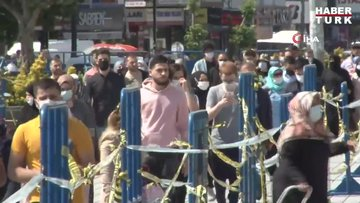 """İstanbul'da vatandaş """"rehavet"""" uyarısını dinlemedi"""
