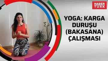Yoga: Karga duruşu (bakasana) çalışması