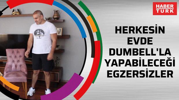Herkesin Evde Dumbell'la Yapabileceği Egzersizler