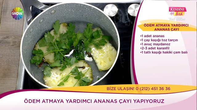 Ananas çayı