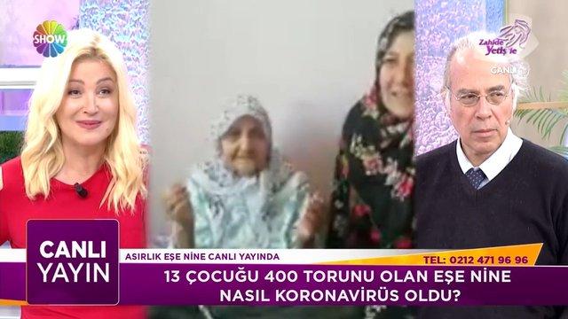 125 yaşındaki Eşe Nine Koronavirüs'ü nasıl yendi?