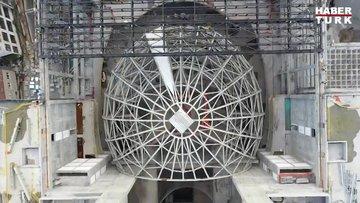 Yeni AKM'nin kaba inşaatı tamamlandı