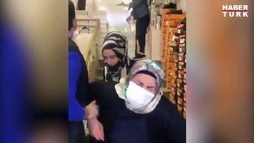 İstediği ayakkabıyı almayan annesini merdivenden itti
