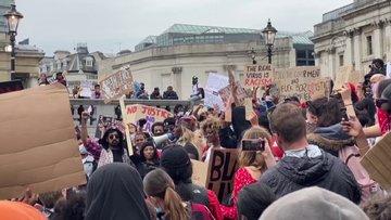 George Floyd protestoları Avrupa'ya sıçradı!