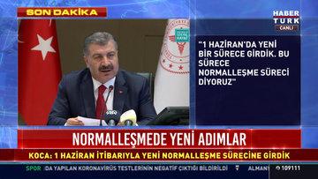 Sağlık Bakanı Koca açıklamalarda bulundu