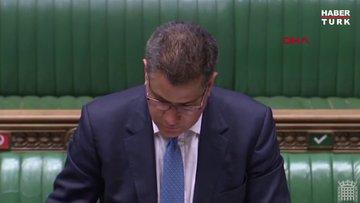 İngiltere'de parlamentoda konuşma yapan Ekonomi Bakanı panik yarattı