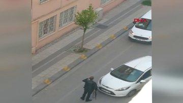 Eli tüfekli saldırganı polis etkisiz hale getirdi