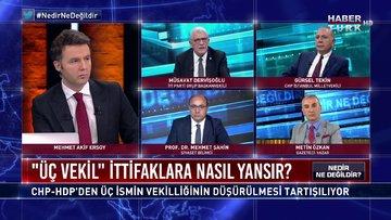 Nedir Ne Değildir - 4 Haziran 2020 (CHP-HDP'den üç ismin vekilliği niye şimdi düştü?)