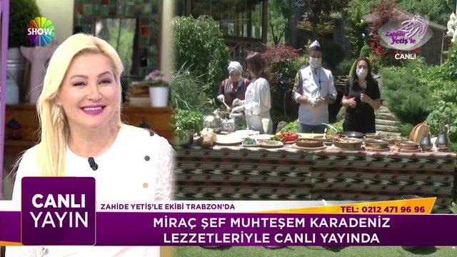 Miraç Şef'ten Karadeniz lezzetleri!
