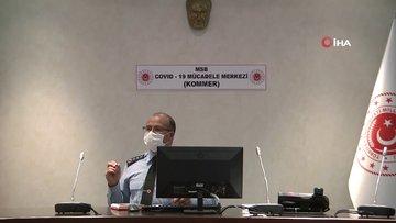 TSK'dan koronavirüs ile mücadelede üstün başarı