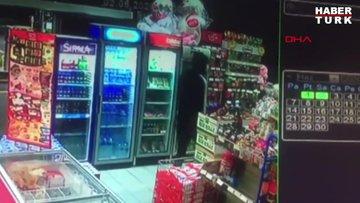 Sancaktepe'deki silahlı akaryakıt istasyonu soygunu kamerada