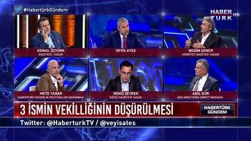 Habertürk Gündem - 7 Haziran 2020 (3 ismin milletvekilliğinin düşürülmesi siyasi mi, hukuki mi?)