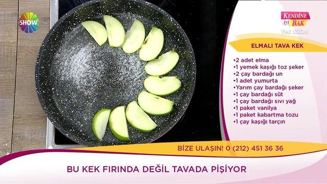 Elmalı Tava Kek