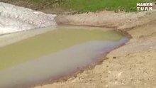 Gümüşhane'deki Dipsiz Göl su tutmaya başladı