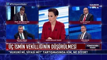 Türkiye'nin Nabzı - 8 Haziran 2020 (Üç ismin vekilliğinin düşürülmesi hukuki mi, siyasi mi?)