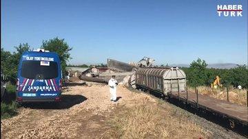Malatya'da iki yük treninin çarpıştığı kazada, 1 kişi öldü, 3 kişi de yaralandı