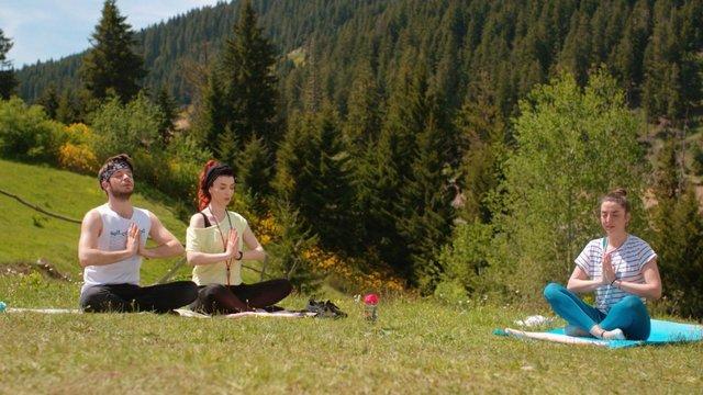 Yoga dersleri başladı!