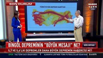 Deprem bilimci Prof. Dr. Naci Görür Habertürk'te soruları yanıtladı