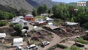 Depremin ardından hasar tespit çalışmaları başladı