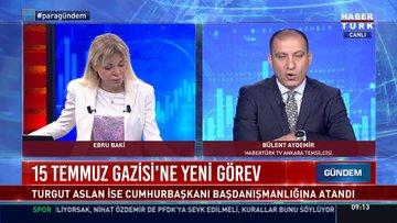 15 Temmuz gazisi Turgut Aslan Cumhurbaşkanı Başdanışmanlığına atandı