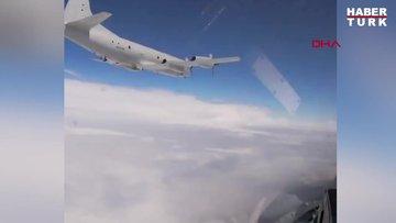 ABD bombardıman uçağı Rus jetleri tarafından Baltık Denizi'nde böyle engellendi