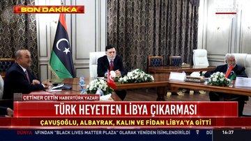 Türk heyetten Libya çıkarması