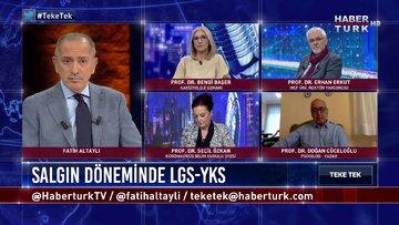 Teke Tek - 16 Haziran 2020 (LGS-YKS'ye girecekler neden endişeli, uzmanlar ne diyor?)