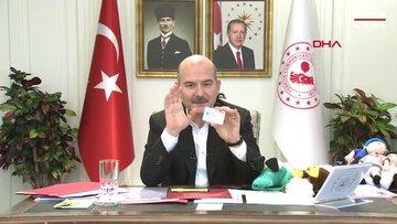 Son dakika haberi İçişleri Bakanı Soylu'dan flaş kimlik açıklaması