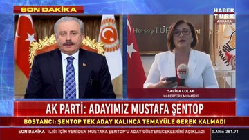 AK Parti: Meclis Başkanı adayımız Mustafa Şentop
