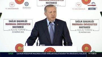 Son dakika! Cumhurbaşkanı Erdoğan: TMM; temizlik, maske ve mesafe