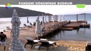 Pandemi döneminde Bodrum!