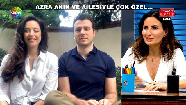 Azra Akın ve ailesiyle çok özel röportaj!