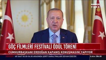 Cumhurbaşkanı Erdoğan'dan açıklamalar